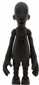 MINDstyle NBA 4 Inch Series 1 Action Figure Kobe Bryant [ALL BLACK]