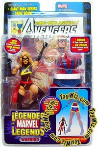Marvel Legends Exclusive Action Figure Warbird {Ms. Marvel} [Giant Man Builder Piece]