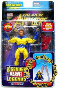 Marvel Legends Exclusive Action Figure Sentry {Bearded Variant} [Giant Man Builder Piece] BLOWOUT SALE!