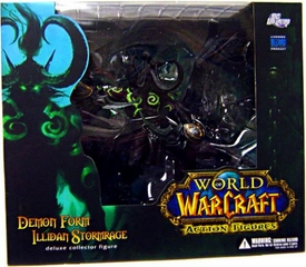 World of Warcraft DC Unlimited Series 5 Deluxe Boxed Action Figure Demon Form Illidan Stormrage