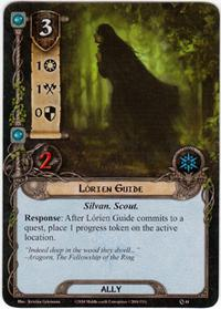 Lord of the Rings: The Card Game [LCG] Core Set Single Card Common #44 Lorien Guide [Set of 3]