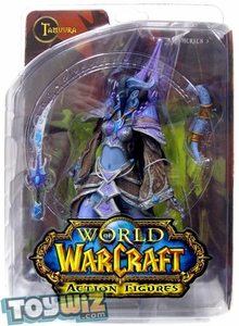 World of Warcraft DC Unlimited Series 3 Action Figure Draenei Mage [Tamuura]