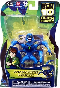 Ben 10 Alien Force 4 Inch Action Figure Spidermonkey DEFENDER [NO TRANSLUCENT MINI ALIEN]