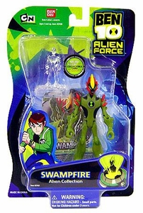 Ben 10 Alien Force 4 Inch Action Figure Swampfire