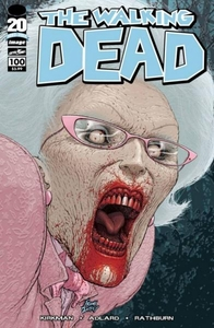 Image Comic Books The Walking Dead #100 Frank Quitely Cover