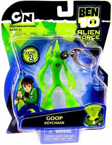 Ben 10 Alien Force Series 2 Keychain Goop