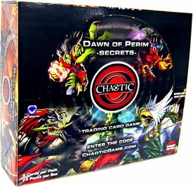Chaotic Card Game Series 1 Dawn of Perim Secrets Booster Box [24 Packs]