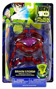 Ben 10 Alien Force DNA Alien Heroes 6 Inch Action Figure Brainstorm