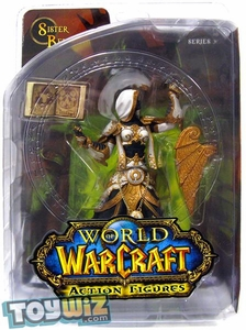 World of Warcraft DC Unlimited Series 3 Action Figure Human Priestess [Sister Benedron]