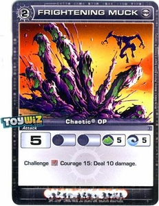Chaotic Trading Card Game OP Organized Play Promo Single Card Common #OP1-13 Frightening Muck