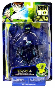 Ben 10 Alien Force DNA Alien Heroes 6 Inch Action Figure Big Chill