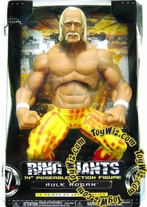 WWE Jakks Pacific Wrestling Action Figure Ring Giants Series 7 Hulk Hogan