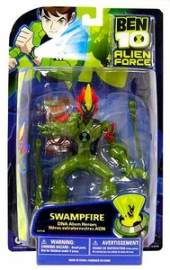 Ben 10 Alien Force DNA Alien Heroes 6 Inch Action Figure Swampfire