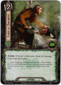 Lord of the Rings: The Card Game [LCG] Core Set Single Card Common #63 Lore of Imladris [Set of 3]