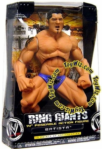 WWE Jakks Pacific Wrestling Action Figure Ring Giants Series 5 Batista