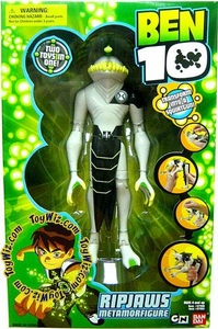 Ben 10 Deluxe 8 Inch Metamorfigure Transforming Action Figure RipJaws