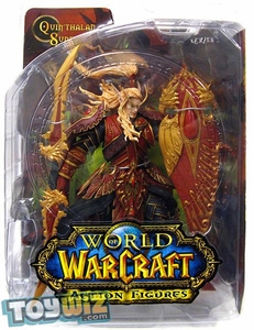 World of Warcraft DC Unlimited Series 3 Action Figure Blood Elf Paladin [Quinthalan Sunfire]
