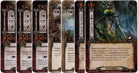 Lord of the Rings: The Card Game [LCG] Core Set Encounter Set Spiders of Mirkwood [12 cards]