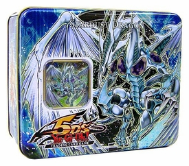 YuGiOh 5D's 2008 Wave 1 Collector Tin Set Stardust Dragon