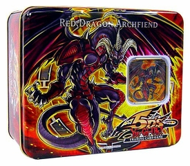 YuGiOh 5D's 2008 Wave 1 Collector Tin Set Red Dragon Archfiend