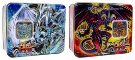 YuGiOh 5D's 2008 Set of Both Wave 1 Collector Tins [Stardust Dragon & Red Dragon Archfiend]