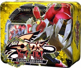 YuGiOh 5D's 2008 Wave 2 Collector Tin Set Turbo Warrior