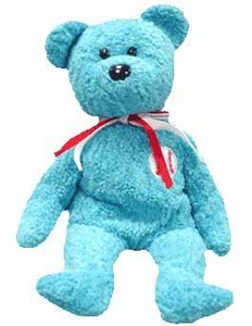 Ty Beanie Baby Addison the Baseball Bear