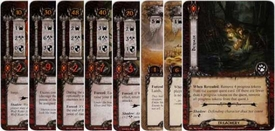 Lord of the Rings: The Card Game [LCG] Core Set Encounter Set Wilderlands [14 cards]