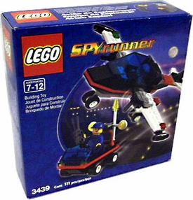 LEGO City Set #3439 Spy Runner