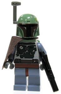 LEGO Star Wars LOOSE Mini Figure Boba Fett with Blaster & Cape