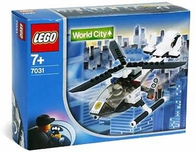 LEGO City Set #7031 Helicopter