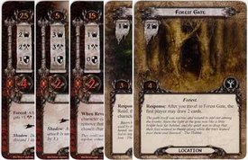 Lord of the Rings: The Card Game [LCG] Core Set Encounter Set Passage Through Mirkwood [9 cards]