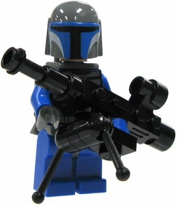 LEGO Star Wars LOOSE Mini Figure Mandalorian Warrior with Heavy Blaster