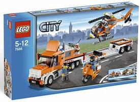 LEGO City Set #7686 Helicopter Transporter