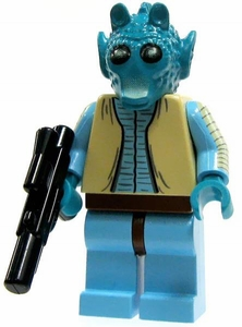 LEGO Star Wars LOOSE Mini Figure Greedo with Blaster RARE!!!