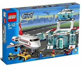LEGO City Set #7894 Airport Damaged Package, Mint Contents!