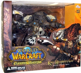 World of Warcraft DC Unlimited Series 3 Deluxe Boxed Action Figure Korg Highmountain