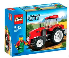 LEGO City Set #7634 Tractor Farm City