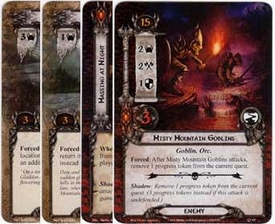 Lord of the Rings: The Card Game [LCG] Core Set Encounter Set Journey Down the Anduin [9 cards]
