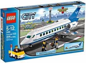 LEGO City Set #3181 Passenger Plane