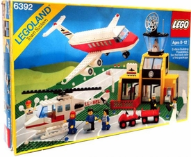 LEGO LEGOLAND Town System #6392 Airport Damaged Package, Mint Contents!