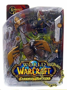 World of Warcraft DC Unlimited Series 2 Action Figure Gnome Warrior [Sprocket Gyrospring]