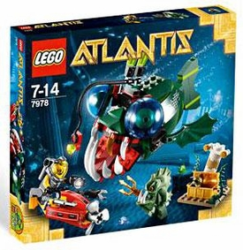 LEGO Atlantis Set #7978 Atlantis Angler Attack