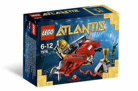 LEGO Atlantis Set #7976 Atlantis Ocean Speeder
