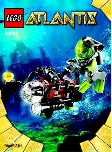 LEGO Atlantis Mini Figure Set #30042 Diver [Bagged]