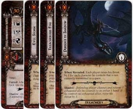 Lord of the Rings: The Card Game [LCG] Core Set Encounter Set Saurons Reach [10 cards]