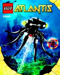 LEGO Atlantis Exclusive Mini Figure Set #30040 Octopus [Bagged]