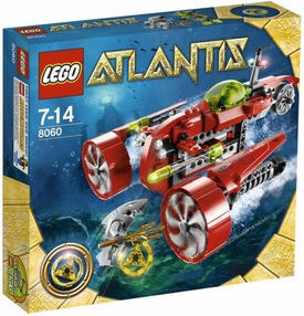 LEGO Atlantis Set #8060 Typhoon Turbo Sub