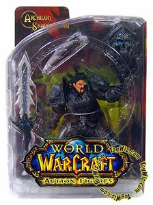 World of Warcraft DC Unlimited Series 2 Action Figure Human Warrior [Archilon Shadowheart]