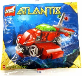 LEGO Atlantis BrickMaster Exclusive Set #20013 Submarine [Bagged]
